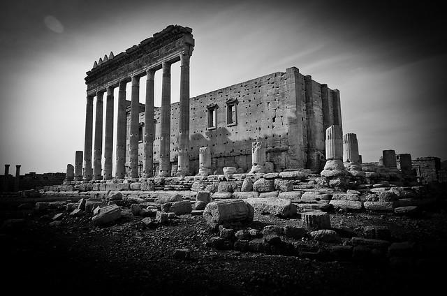 Roman Ruins in Palmyra / Tadmur