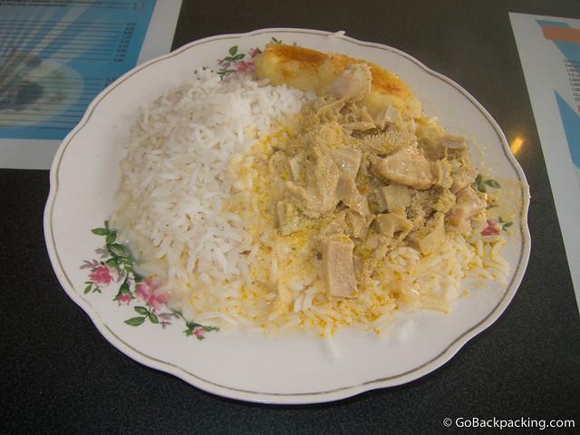 Librillo with rice