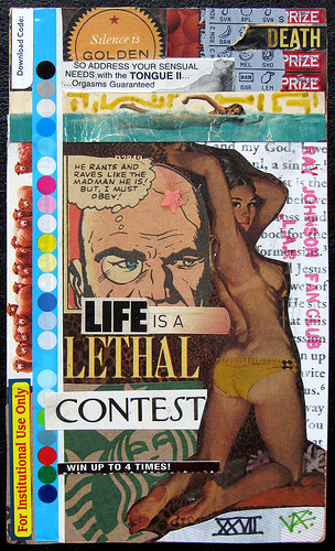 "Relationship XXVII ""Life is a Lethal Contest"" by LANCEPHOTO"