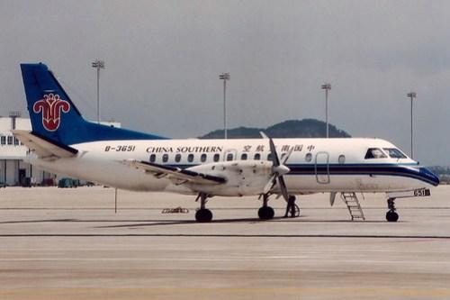 Sabb, 340B, B-3651, China Southern Airlines, Shenzhen, China