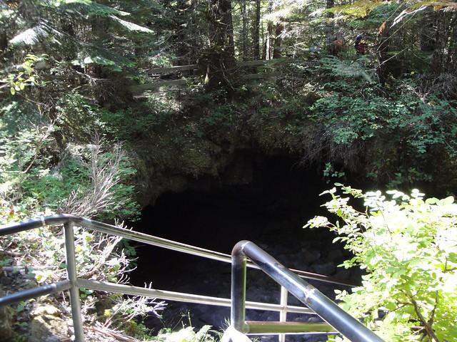 Ape Cave Entrance