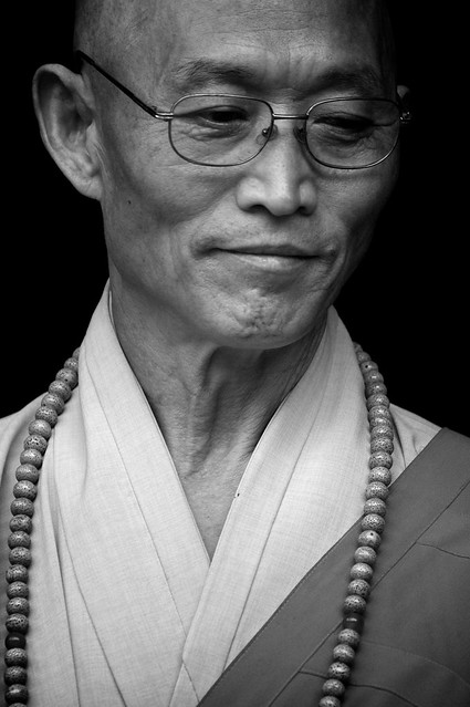 Buddhist Monk in North Korea