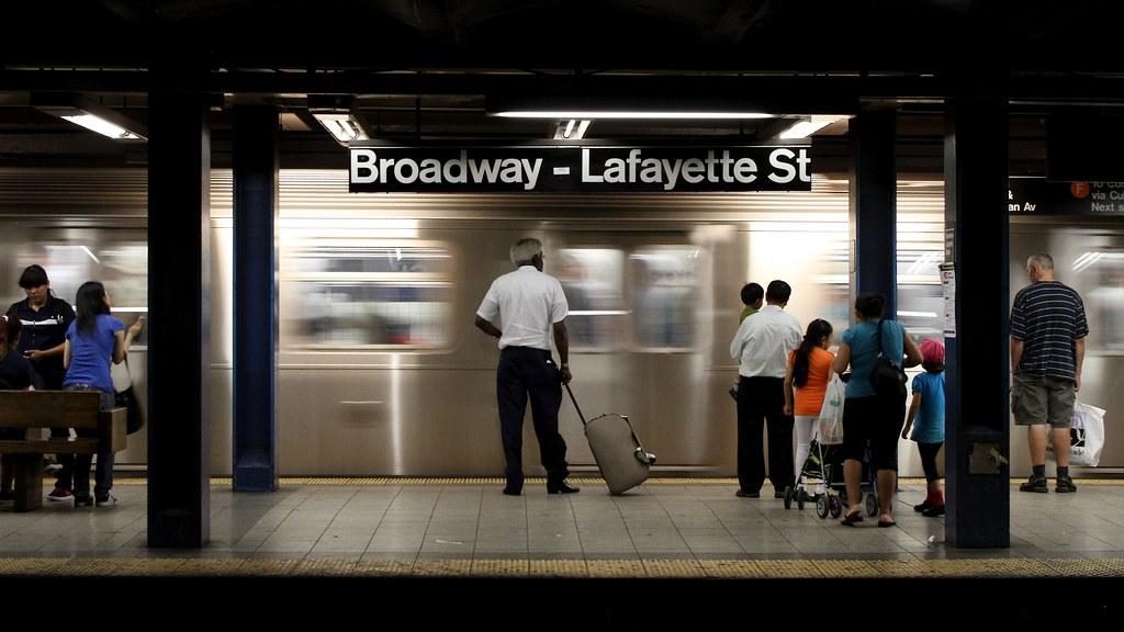 Broadway-Lafayette St. station