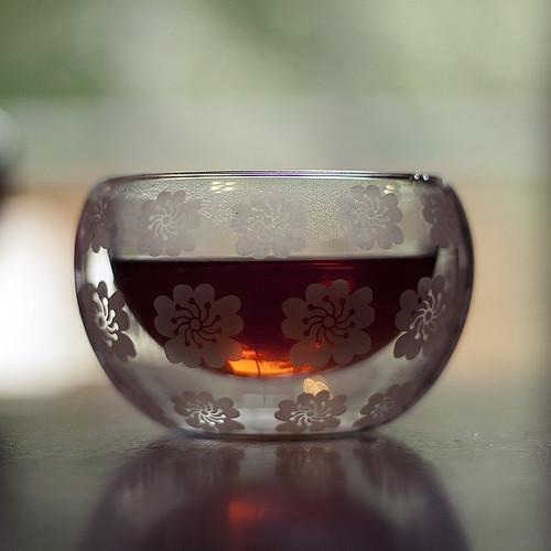 petite fleur teacup.