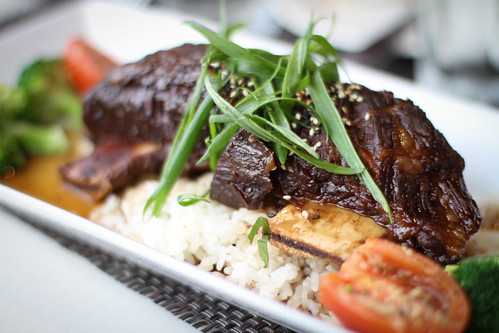 Asian Shortribs at Cafe o'Lei, Maui Hawaii