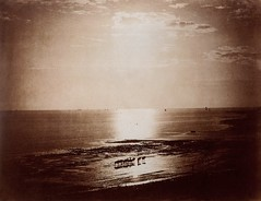 The Effect of the Sun, Normandy, 1856, by Gustave Le Gray
