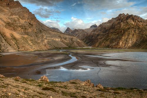 Yang Cho Lake  Spiti Valley. Himachal Pradesh. India