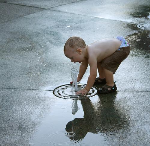 Summer Fun at the Fountain