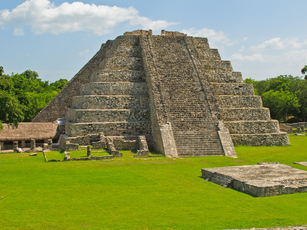The Temple of Kukulcan, Mayapan