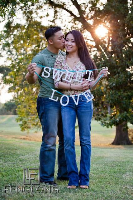 Sweet Love DIY Engagement | Sophear & Jake | Freedom Park | Atlanta Engagement Photographer