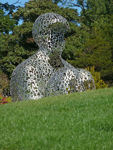 House of Knowledge, a sculpture by Jaume Plensa
