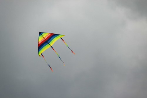 capture photos from a kite