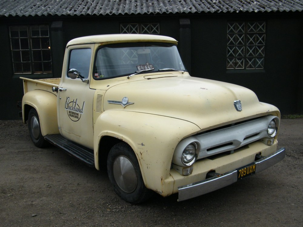 medium resolution of 1956 ford f 100 step side pick up