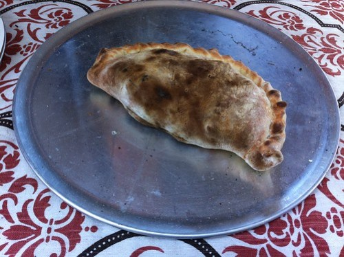 Breakfast Calzone at the Subiaco Farmers Market
