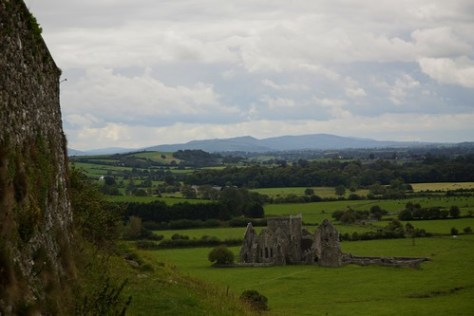 View from the Rock of Cashel
