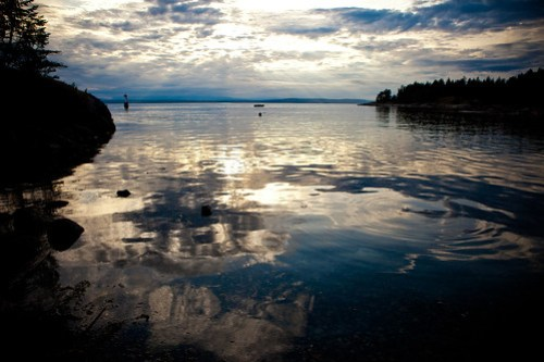 Channel Rock, Cortes Island, British Columbia