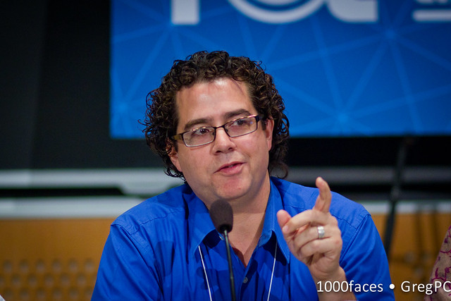 Face - Chris O'Brien (@sjcobrien) speaking at #FoE5