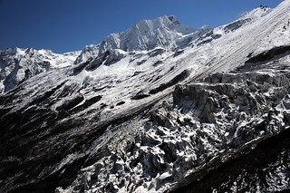 Manaslu glacier