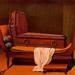 Magritte.Perspectiva I.Madame Récamier de David