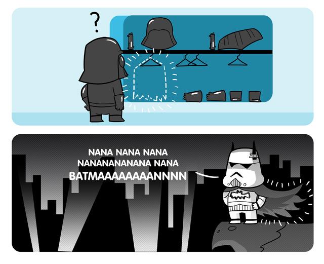 Nerd stormtrooper