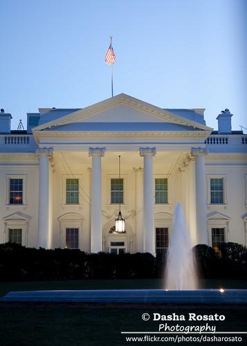 The White House, Washington DC at Dusk