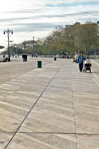 concrete boardwalk