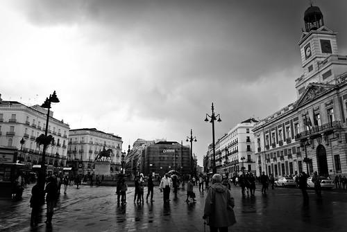 """035/365 """"La Puerta del Sol con Nubes"""" by Flickr Jiménez (Pedro Nog)"""