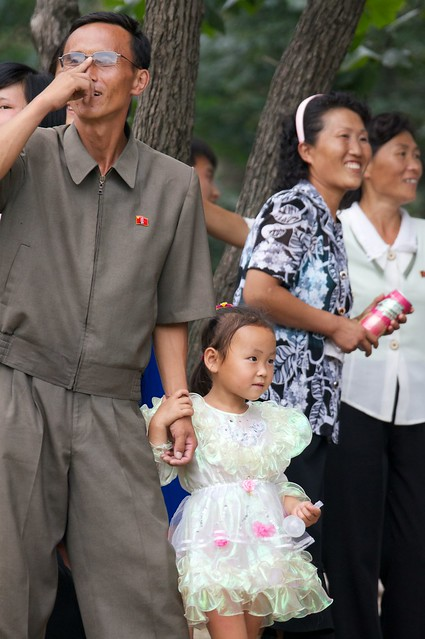 North Koreans at the Park