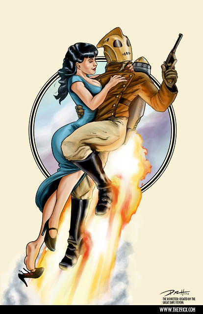 Rocketeer by Paul Roman Martinez