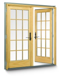 400 Series Frenchwood Hinged Outswing Patio Doors