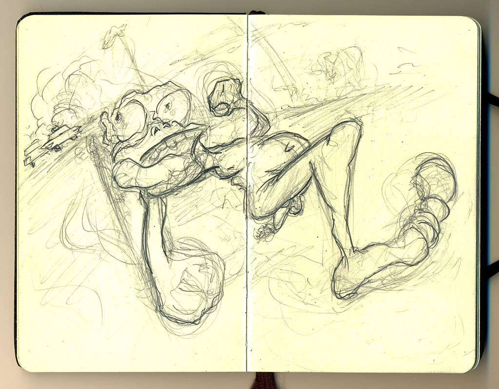 Breakin da Law doodle - Joshua Kahan