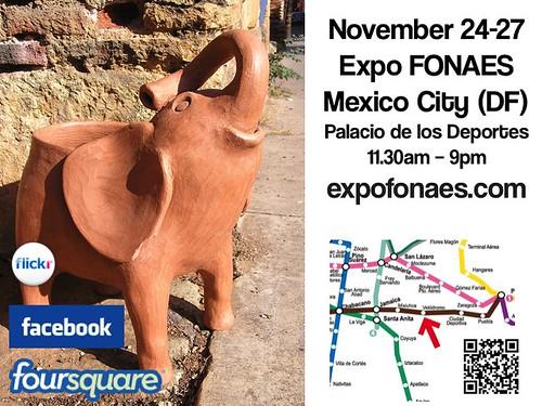Expo Fonaes November 24-27 (elephant in the room!) @FONAES_Mx #ExpoFONAESInvierno