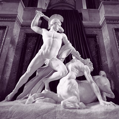 Canova's Theseus vanquishing Eurythion, king of the centaurs, c. 1875