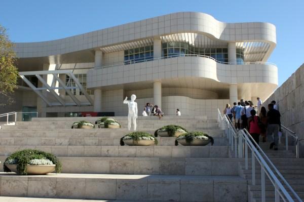 J. Paul Getty Museum in Los Angeles California