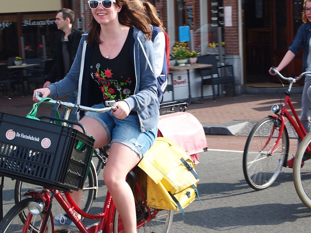 Summer Cycling by Else