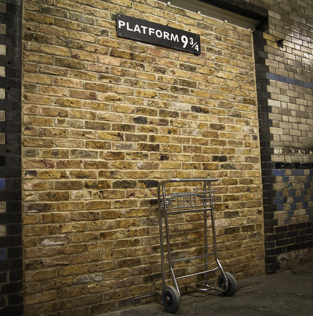 Platform 9 3/4, King's Cross Station, London