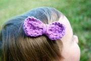 easy peasy bow free crochet pattern