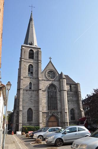2011.09.25.067 TOURNAI - Rue de la Madeleine - Église Sainte-Marie-Madeleine