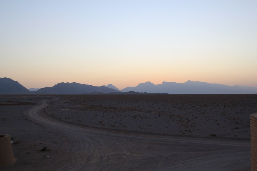 Sunseting over the Zagros Mountains