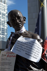 Occupy Boston: Gandhi