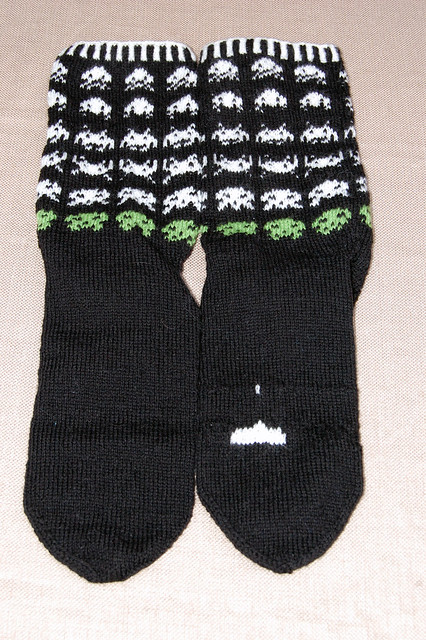 Space Invader Socks - Ed (11/11)