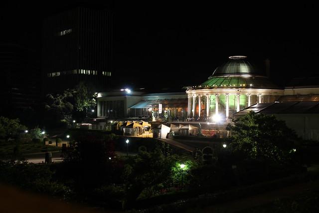 L'Orangerie by night