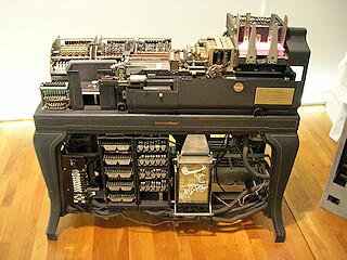 IBM 601 electromechanical punch card tabulator