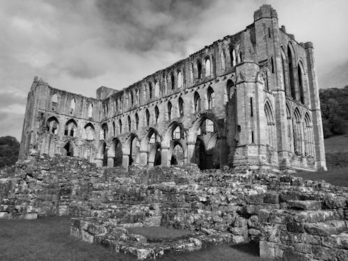 Ruins of Rievaulx Abbey by Sarah L Couzens