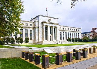 Federal Reserve Building in Washington D.C. - Illustration
