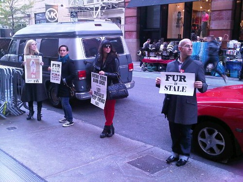 Intermix Anti-Fur Protest 11/19/11