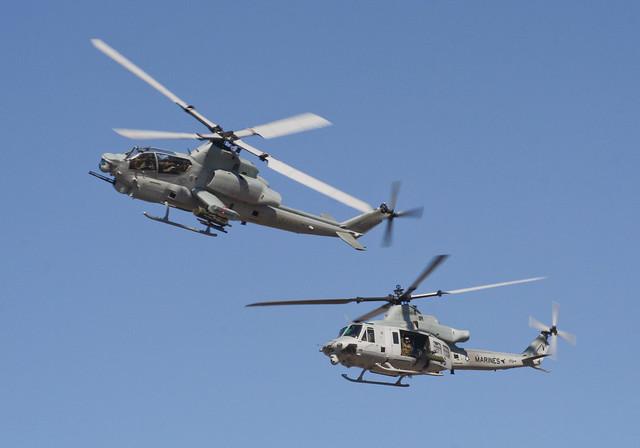 AH-1Z HMLA-167 BuNo 168400 & UH-1Y BuNo 168402   Flickr - Photo Sharing!