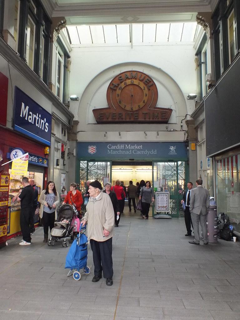 Cardiff Market Clock
