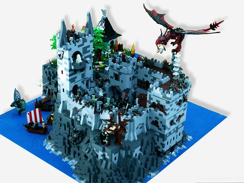 Awesome castle made by YFOL!