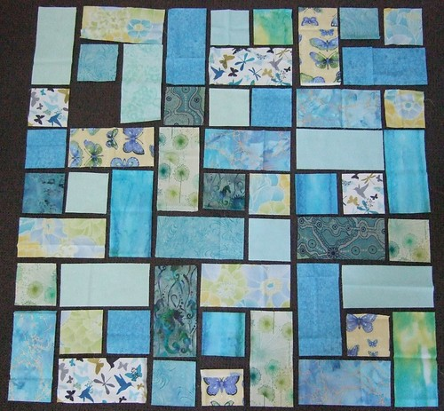 First, start with a few squares and rectangles...